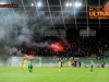 Soccer Football, Slovenia, Ljubljana, First Division (NK Olimpija - NK Maribor), Football team Maribor fans, Viole, 04-Mar-2015, (Photo by: Arsen Peric / M24.si)