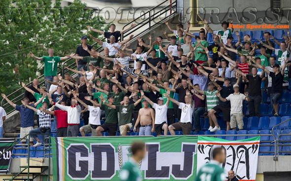 1. krog: Olimpija-Rudar, 18. julij 2010