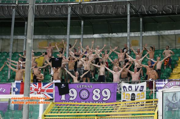 Prva tekma 4. kroga kvalifikacij za Ligo Europa, Palermo-Maribor, 19. avgust 2010