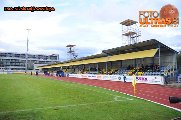 Soccer/Football, Domzale, First Division (NK Kalcer Radomlje - NK Domzale), stadium Domzale, 13-Sep-2014, (Photo by: Nikola Miljkovic / Krater Media)