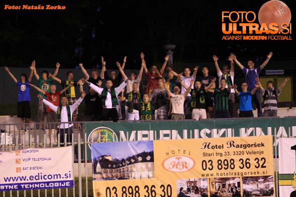 6. krog: Rudar-Domžale, 21. avgust 2010