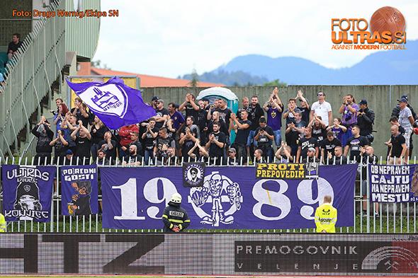 Soccer/Football, Velenje, First division (NK Rudar - NK Maribori), Viole, 22-Jul-2018, (Photo by: Drago Wernig / Ekipa)