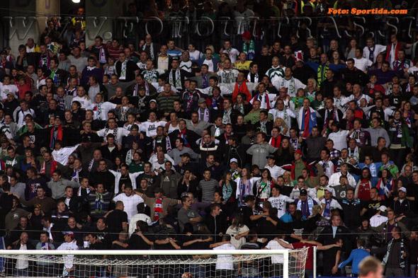 Zadnja tekma reprezentance v Ljudskem vrtu proti Severni Irski, 3. septembra 2010