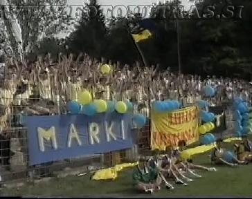 Marki v največjem številu na domači tekmi proti Muri v sezoni 1992/1993