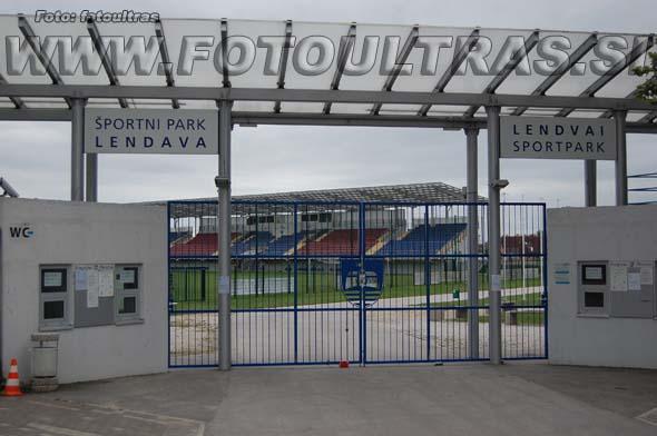Današnji vhod na stadion