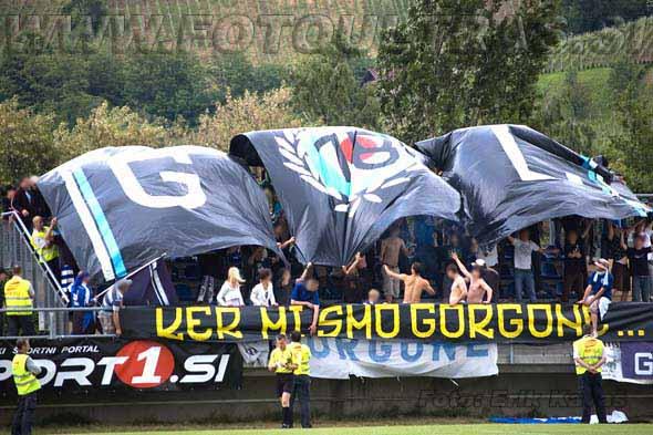 Ob predstavitvi lendavskega stadiona ne moremo mimo navijačev Nafte - Gorgon