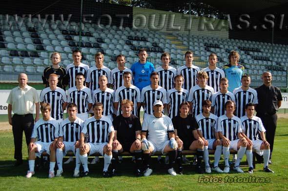Moštvo Mure 05 v jesenskem delu prvenstva 2009/10